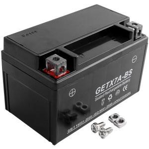 【メーカー在庫あり】 GETX7A-BS NBS バイクパーツセンター MFジェルバッテリー 12V YTX7A-BS互換 JP店|hirochi