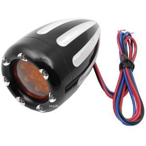 【USA在庫あり】 12-765 アレンネス Arlen Ness LED ウインカー ディープカット ダブル球仕様 黒/白 (1個売り) JP店|hirochi