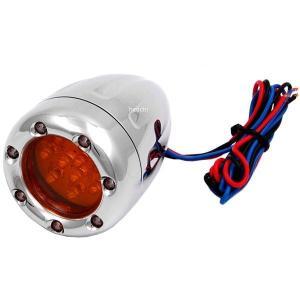 12-764 アレンネス Arlen Ness LED ウインカー ディープカット ダブル球仕様 クローム/白 (1個売り) JP店|hirochi