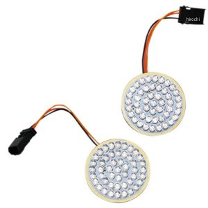 2060-0536 カスタム ダイナミクス LEDフロントウインカーインサート ブレット/フラット JP店|hirochi