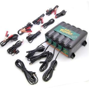 【USA在庫あり】 212113 バッテリーテンダー Deltran Battery Tender 充電 ステーション 4系統 x 12V-1.25A JP店|hirochi
