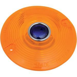 【USA在庫あり】 222552 DHD4AB クリス Chris Products ウインカーレンズ フラット 青-DOT/アンバー 68440-86 (1個売り)|hirochi