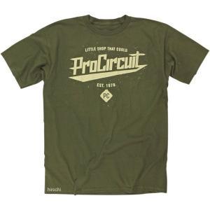 【USA在庫あり】 3030-13186 プロサーキット Pro Circuit Tシャツ Little Shop グリーン Sサイズ JP店|hirochi