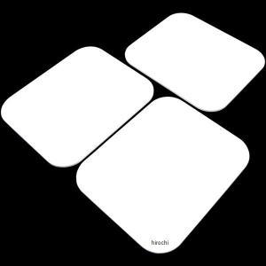 【メーカー在庫あり】 305-229W キジマ ゼッケンプレート 3枚SET 白 JP店|hirochi