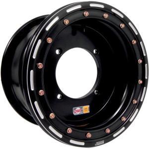 【USA在庫あり】 368747 ダグラスホイール Douglas Wheel ホイール アルティメット 12x8 5+3 4/137 黒 JP|hirochi