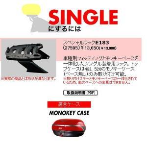 【メーカー在庫あり】 37595 デイトナ GIVI スペシャルラック シングル E183 BMW R1100RT/1150RT / R1100RS|hirochi
