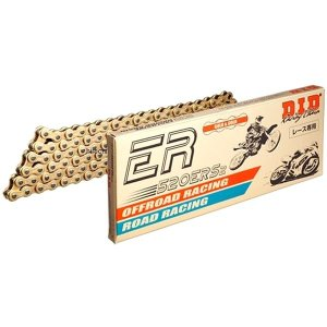 4525516453462 DID 大同工業 チェーン 415ERZ レース用 ERシリーズ ゴールド (70L) カシメ hirochi