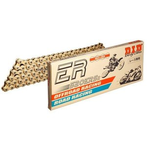 4525516453493 DID 大同工業 チェーン 415ERZ レース用 ERシリーズ ゴールド (76L) カシメ hirochi
