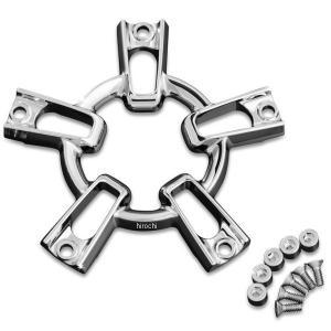 【USA在庫あり】 419566 クリアキン Kuryakyn アップデートキット エアクリーナー Mach2 Co-Ax用 クローム JP店|hirochi