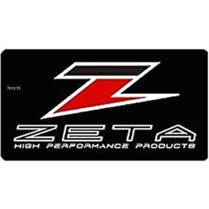 【メーカー在庫あり】 ZE50-2111 ジータ ZETA ZETA ロゴステッカー 6.5cmx3.5cm JP店|hirochi