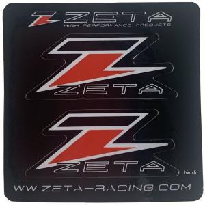 【メーカー在庫あり】 ZE50-0103 ジータ ZETA ステッカーセット 4.7cmx2cm 2枚入り JP店|hirochi