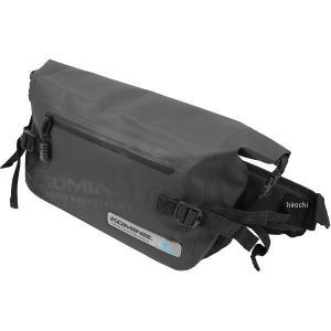 ロールトップ型の防水仕様。 ヒップバッグ。 A4サイズの書類がすっぽり入る5Lサイズで通勤、通学にも...