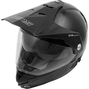【メーカー在庫あり】 4560385765339 ウインズ WINS オフロードヘルメット X-ROAD メタリックブラック XLサイズ(59-60cm)|hirochi