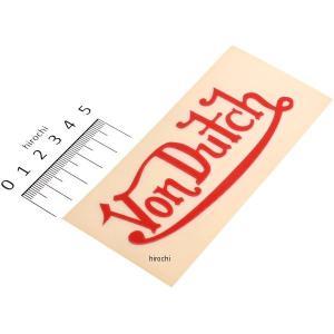 【メーカー在庫あり】 US-9010 ボンダッチ VONDUTCH ステッカー 赤|hirochi