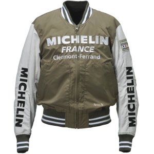 ML18101S ミシュラン MICHELIN 2018年春夏モデル アワードジャケット オリーブ/アイボリー Lサイズ JP店|hirochi