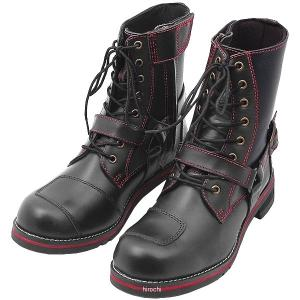 WWM-0001 ワイルドウイング WILDWING ライディングブーツ ファルコン フラッグシップモデル 黒/赤 26.5cm JP店|hirochi