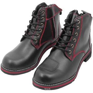 WWM-0003 ワイルドウイング WILDWING ライディングブーツ スワロー フラッグシップモデル 黒/赤 26.5cm JP店|hirochi