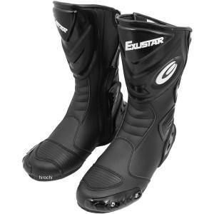 4712947520584 E-SBR220-BK エグザスター EXUSTAR レーシングブーツ 黒 サイズ #41 26.0 JP店|hirochi