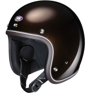 4955004012787 タチバナ SHM ヘルメット OLD SCHOOL シャイン マロン Mサイズ|hirochi