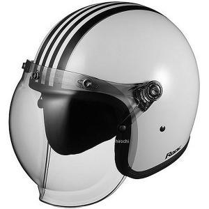 4966094554613 オージーケーカブト OGK KABUTO ジェットヘルメット ROCK G1 ホワイトブラック 57cm-59cm JP店|hirochi