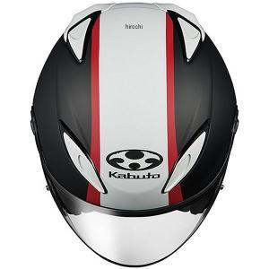 4966094560645 オージーケーカブト OGK KABUTO ジェットヘルメット AVAND-2 ESCAPE フラットブラックホワイトレッド Lサイズ JP店 hirochi