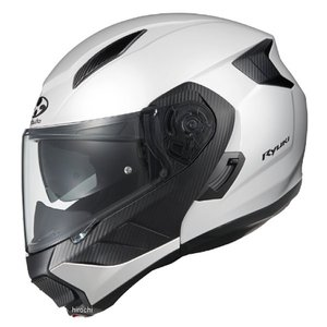 4966094595937 オージーケーカブト OGK KABUTO システムヘルメット RYUKI ホワイトメタリック Lサイズ JP店|hirochi