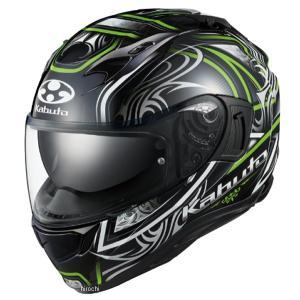 4966094596712 オージーケーカブト OGK KABUTO フルフェイスヘルメット KAMUI-3 JAG ブラックグリーン XSサイズ JP店|hirochi