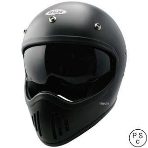 4984679512568 TNK工業 フルフェイスヘルメット B-80 ヴィンテージモトクロスヘルメット  ハーフマットブラック フリーサイズ(58-59cm) JP店|hirochi