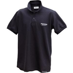 5160 9389 51609389 ブリヂストン BRIDGESTONE ポロシャツ II レーシング 黒 Mサイズ JP店|hirochi