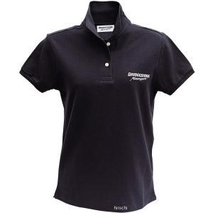 5160 9404 51609404 ブリヂストン BRIDGESTONE ポロシャツ II レーシング レディース 黒 WSサイズ JP店|hirochi