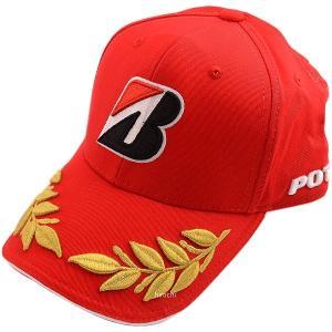 5160 9451 51609451 ブリヂストン BRIDGESTONE レーシングキャップ 赤 フリーサイズ(57-61cm) JP店 hirochi