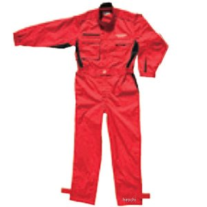 5160 9515 51609515 M17M16 ブリヂストン BRIDGESTONE 2017年モデル ピットクルースーツ 赤 ELサイズ JP店|hirochi