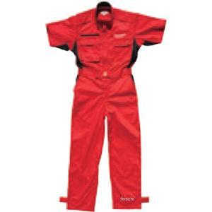 5160 9532 51609532 M17M33 ブリヂストン BRIDGESTONE 2017年モデル サマーピットクルースーツ 赤 Mサイズ JP店|hirochi