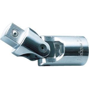 ・ソケットとハンドルの間に接続して、角度をつけた斜め作業ができます。 ・差込角(mm):凹凸19.0...