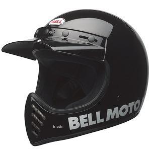 7080607 ベル BELL オフロードヘルメット MOTO-3 グロスブラック Mサイズ(57cm-58cm) JP店 hirochi