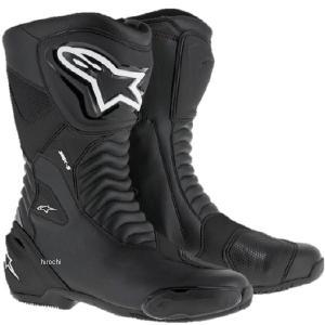 【メーカー在庫あり】 8021506618621 アルパインスターズ Alpinestars 春夏モデル ロードレーシングブーツ SMX-S 黒/黒 43サイズ (27.5cm) JP店 hirochi