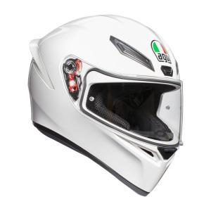 028194IY001-L 028194IY-001-L エージーブイ AGV フルフェイスヘルメット K1 JIST SOLID アジアフィット 白 Lサイズ(59-60cm) JP店|hirochi