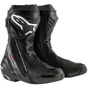 【メーカー在庫あり】 8051194746122 アルパインスターズ Alpinestars ブーツ Supertech-R 0015 黒 39サイズ 25.0cm JP店|hirochi
