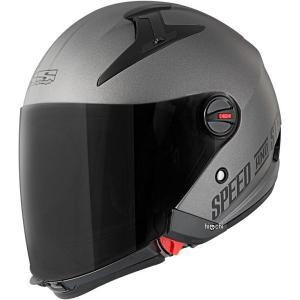 【USA在庫あり】 871342 スピードアンドストレングス フルフェイスヘルメット SS2210 チタン(つや消し) 2XLサイズ JP店|hirochi