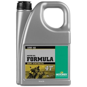 【USA在庫あり】 980049 モトレックス MOTOREX 半化学合成 4st エンジンオイル Formula 10W40 4リットル JP店|hirochi