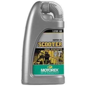 【USA在庫あり】 980056 モトレックス MOTOREX 半化学合成 4st エンジンオイル スクーター 10W40 1リットル JP店|hirochi