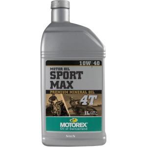 【USA在庫あり】 981516 モトレックス MOTOREX 鉱物油 4st エンジンオイル Sport Max 10W40 1リットル JP店|hirochi