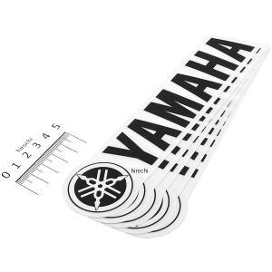 【USA在庫あり】 FX06-90202 ファクトリーFX FACTORY EFFEX ロゴステッカー ヤマハ 200mm (5枚入り) JP店|hirochi