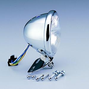 【メーカー在庫あり】 HA5601-01 ハリケーン アメリカン系 ヘッドライトキット 4.5ベーツタイプ ヘッドライト ・スティード400/600 JP店 hirochi