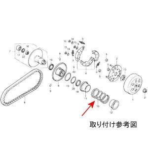 【即納】 MT-11147791 ヒロチー商事 クラッチセンタースプリング (ノーマル) DIO JP店 hirochi 02