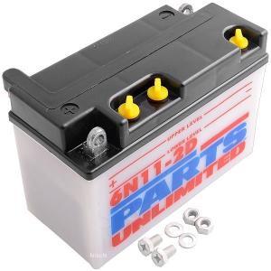 【USA在庫あり】 R6N11-2D パーツアンリミテッド Parts Unlimited 液別 バッテリー 開放型 6V Y6N11-2D JP店 hirochi