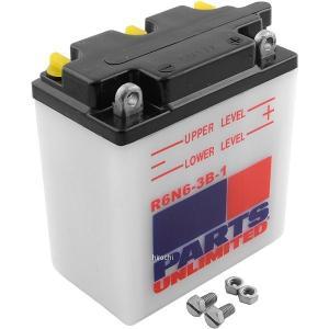【USA在庫あり】 R6N6-3B-1 パーツアンリミテッド Parts Unlimited 液別 バッテリー 開放型 6V Y6N6-3B-1 JP店 hirochi