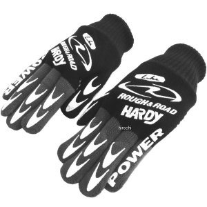RR0101BK ラフ&ロード マッドグローブ 黒 フリーサイズ JP店|hirochi
