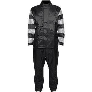【メーカー在庫あり】 TFR-1401-GY-BK-S TFR-1401 トゥエンティ・フォー・セブン カスタムレザース 24/7 Custom Leathers レインスーツ グレー/黒 Sサイズ JP店|hirochi