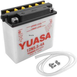 【USA在庫あり】 Y12N5.5-4A YUAM2254A ユアサ バッテリー 開放型 12V|hirochi